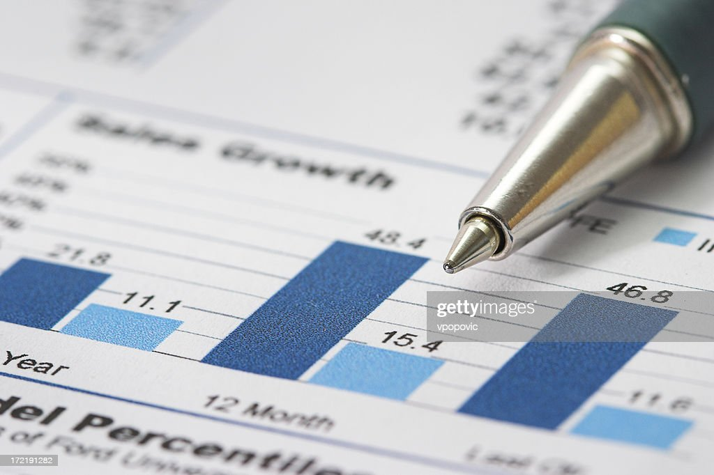 Sales growth : Stock Photo