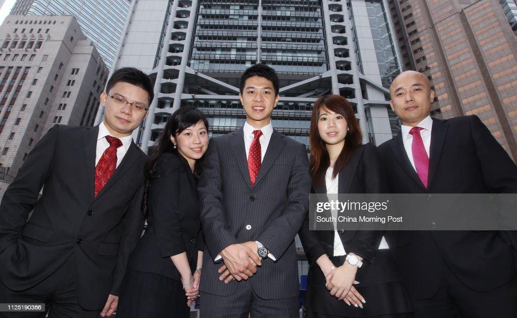 HSBC sales team Raymond So, Assistant Manager, HSBC Business Centre