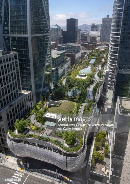 Salesforce Park reopens Monday July 1 after being closed last September when cracks were found in the structural beams of the $2 billion Salesforce...