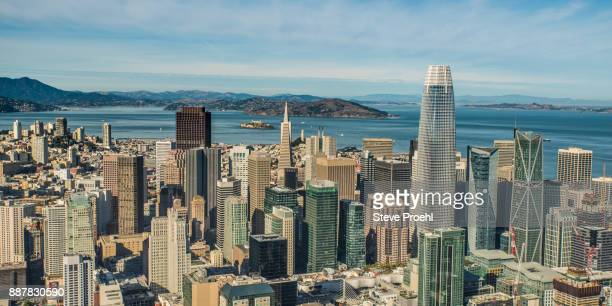 Salesforce Tower and San Francisco Skyline