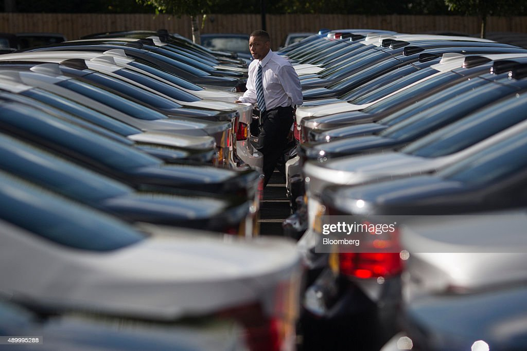 BMW Cars At A Dealership As Shares Recover In U.S. After Magazine ...