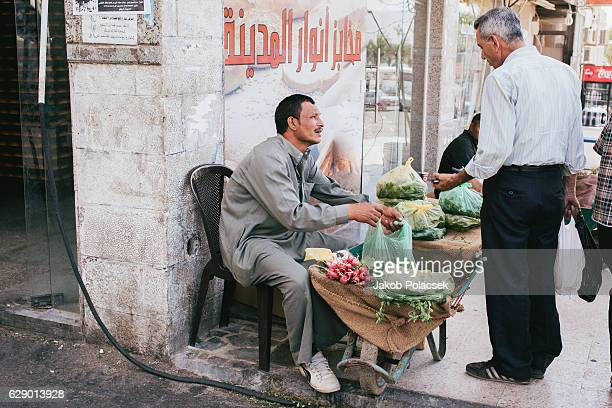 Salesmen in the city center of Aqaba