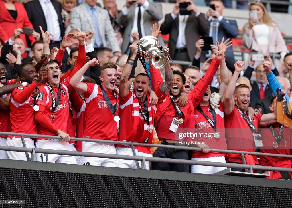 Salford City v AFC Fylde - Vanarama National League Play Off Final : News Photo