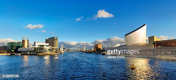 salford quays, manchester, uk - england montenegro stock pictures, royalty-free photos & images