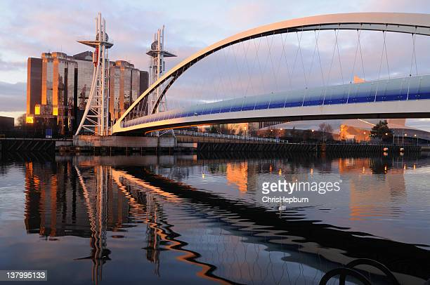 salford quays - manchester england stock pictures, royalty-free photos & images