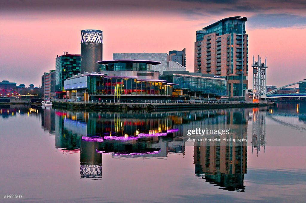 Salford Quays : Stock Photo