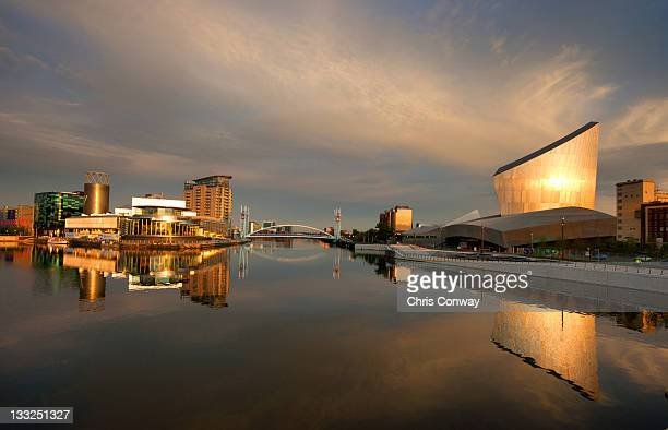 Salford Quays reflections.
