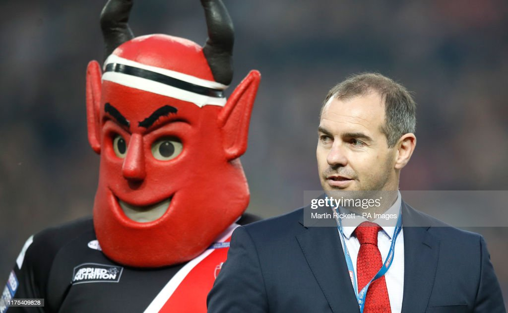 St Helens v Salford Red Devils - Betfred Super League - Grand Final - Old Trafford : News Photo