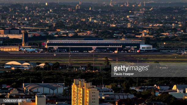 salgado filho airport - filho stock-fotos und bilder