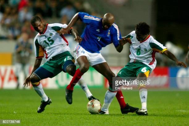 Salif DIAO / Patrick VIEIRA / Aliou CISSE France / Senegal Coupe du Monde 2002 en Coree Seoul