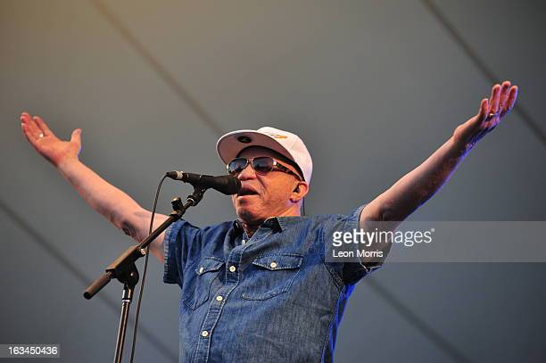 Salif Keita performs on stage at Womadelaide 2013 at Botanic Park on March 10 2013 in Adelaide Australia