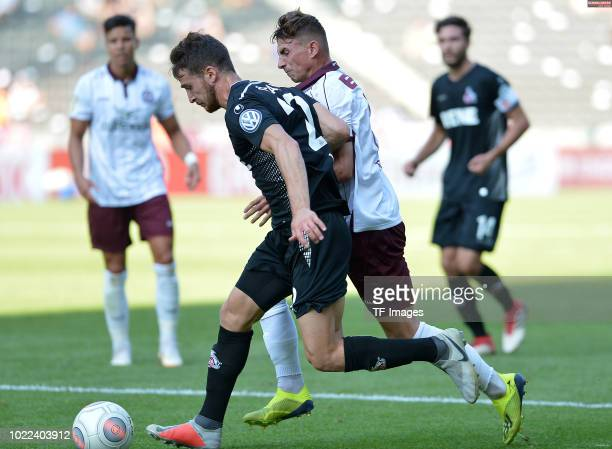 Salih Oezcan of FC Koeln controls the ball during the DFB Cup first round match between BFC Dynamo and 1 FC Koeln at Olympiastadion on August 19 2018...