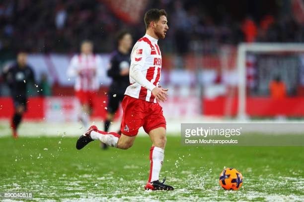 Salih Ozcan of FC Koeln in action during the Bundesliga match between 1 FC Koeln and SportClub Freiburg at RheinEnergieStadion on December 10 2017 in...