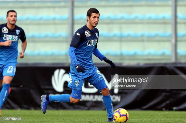 Salih Ucan of Empoli FC in action during the friendly match between Empoli FC and Empoli FC U19 at on November 17 2018 in Empoli Italy