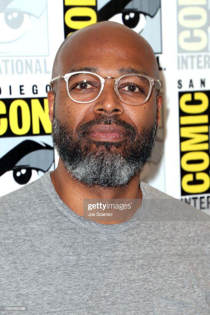 "Comic-Con International 2018 - ""Black Lightning"" Press Line : News Photo"