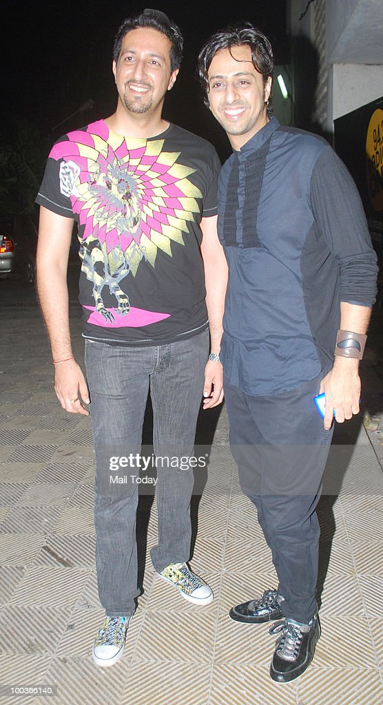 Salim and Sulaiman Merchant at an event in Mumbai on May 22, 2010.