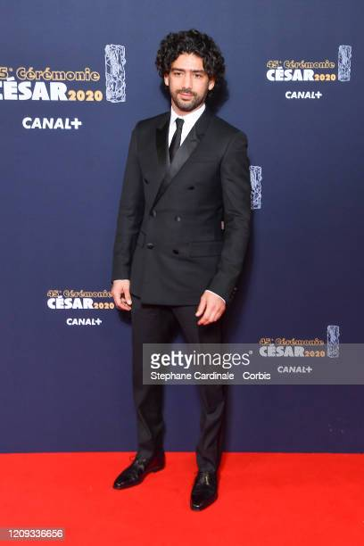 Salim Kechiouche arrives at the Cesar Film Awards 2020 Ceremony At Salle Pleyel In Paris on February 28, 2020 in Paris, France.