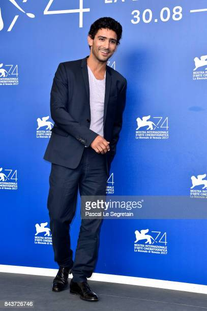 Salim Kechiouche attends the 'Mektoub My Love Canto Uno' photocall during the 74th Venice Film Festival at Sala Casino on September 7 2017 in Venice...