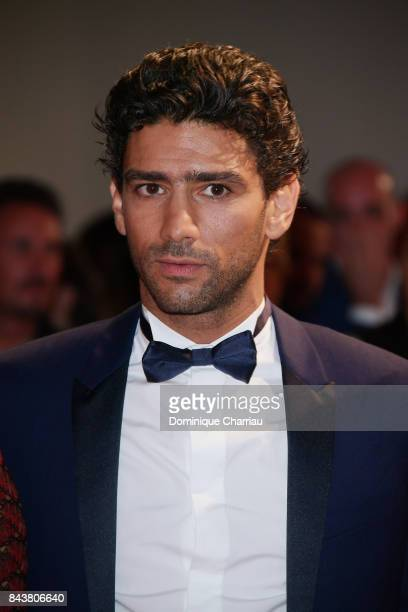 Salim Kechiouche walks the red carpet ahead of the 'Mektoub My Love Canto Uno' screening during the 74th Venice Film Festival at Sala Grande on...