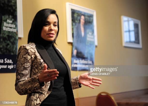 Salima Saa responsable de lAgence nationale pour la cohésion sociale et légalité des chances , fille dun militaire harki, ex-chef dentreprise (elle a...