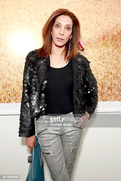 Salima Surani attends the Photo Femmes Exhibition Opening at De Re Gallery featuring the work of Ashley Noelle Bojana Novakovic and Monroe at De Re...