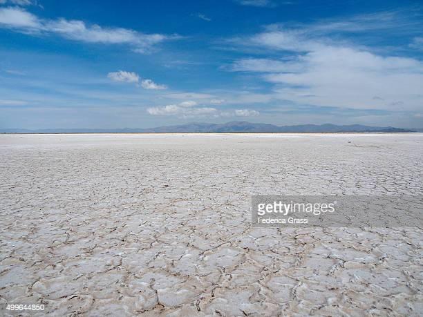 Salinas Grandes Salt Flat in Northern Argentina