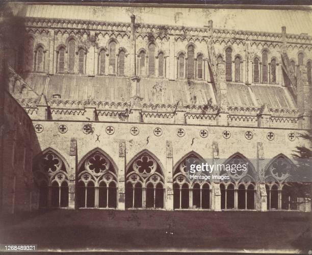 Salisbury Cathedral 1850s Artist Unknown