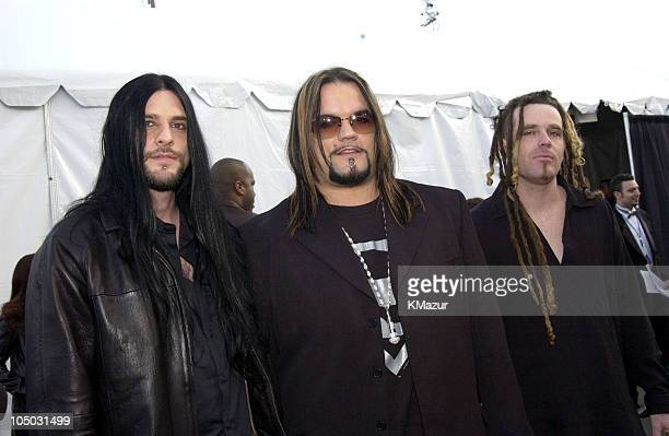 Saliva during The 30th Annual American Music Awards Arrivals at Shrine Auditorium in Los Angeles California United States