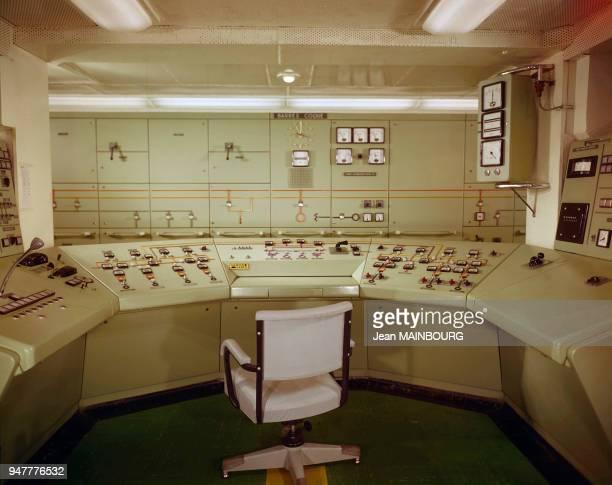 Salle de contrôle du paquebot France