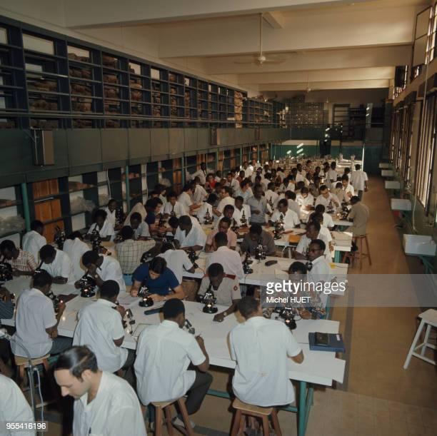 Salle de sciences de l'université de Dakar Sénégal