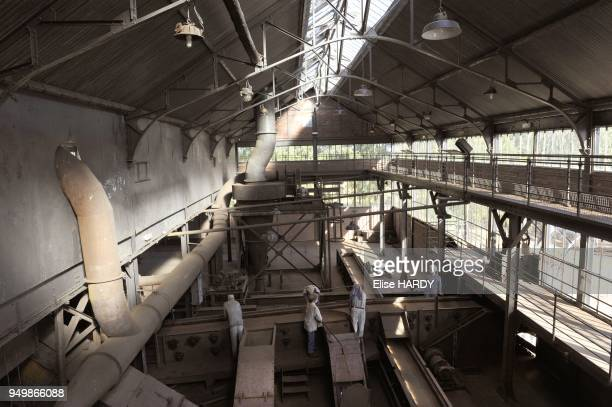 Salle de triage du charbon du Centre historique minier de Lewarde, ancienne fosse Delloye, le 8 septembre 2012 a Lewarde, France.