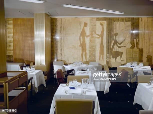 Salle à manger du paquebot France