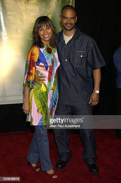 Salli Richardson and Dondre T Whitfield during NBC AllStar Winter Party at Bliss in Los Angeles California United States