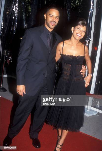 Salli Richardson Dondre T Whitfield during 'Antwone Fisher' Premiere Beverly Hills at Academy of Motion Picture Arts Sciences in Beverly Hills...