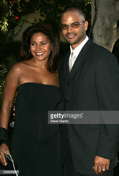 Salli Richardson during 6th Annual MercedesBenz DesignCure at Home of Sugar Ray and Bernadette Leonard in Pacific Palisades California United States