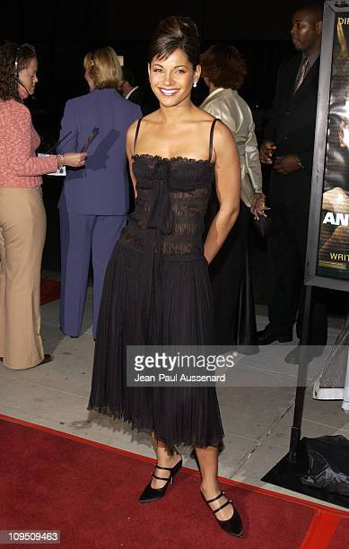 Salli Richardson during Antwone Fisher Premiere Beverly Hills at Academy of Motion Picture Arts Sciences in Beverly Hills California United States