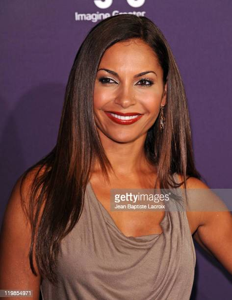 Salli Richardson-Whitfield arrives at SyFy/E! Comic-Con Party at Hotel Solamar on July 23, 2011 in San Diego, California.