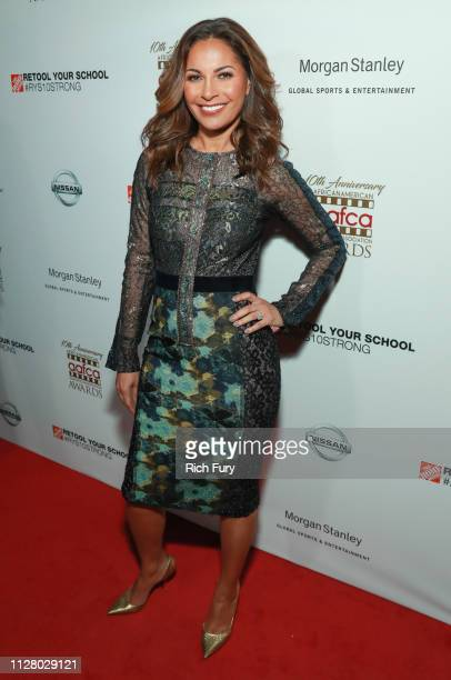 Salli RichardsonWhitfield attends the 10th Annual AAFCA Awards at Taglyan Complex on February 06 2019 in Los Angeles California