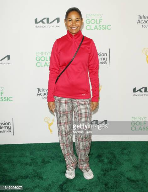 Salli Richardson-Whitfield attends the 21st Annual Emmys Golf Classic Tournament to benefit the Television Academy Foundation's Education Programs...