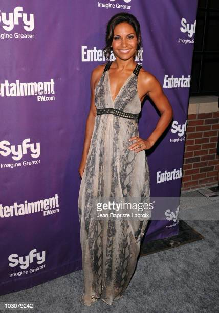 Salli Richardson-Whitfield attends the EW and SyFy party during Comic-Con 2010 at Hotel Solamar on July 24, 2010 in San Diego, California.