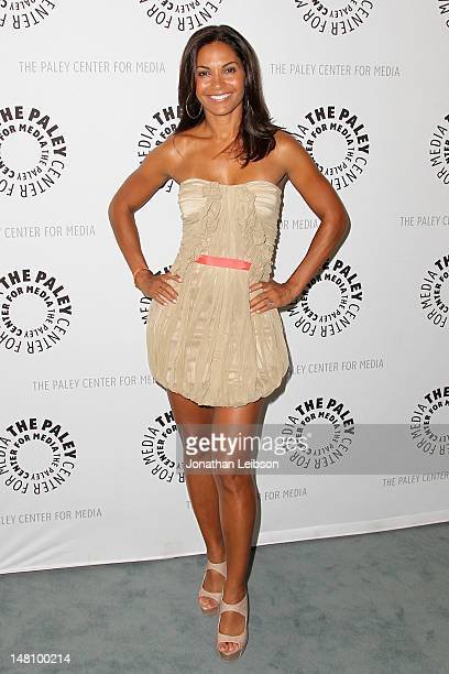 Salli RichardsonWhitfield attends The Paley Center For Media Presents An Evening With Syfy's Eureka at The Paley Center for Media on July 9 2012 in...