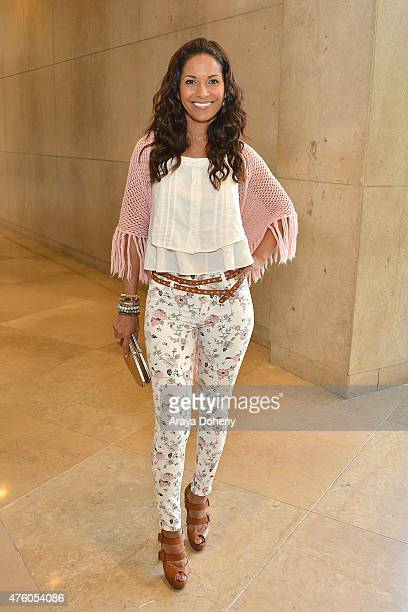 Salli RichardsonWhitfield attends the Step Up Women's Network 12th Annual Inspiration Awards at The Beverly Hilton Hotel on June 5 2015 in Beverly...