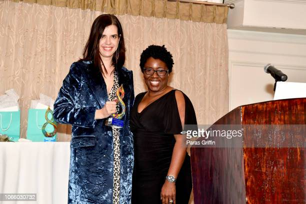 Sallie Patrick and WIFTA Board Member Robyn Watson attends the '2018 Annual Women In Film Television Gala' at 103 West on November 10 2018 in Atlanta...