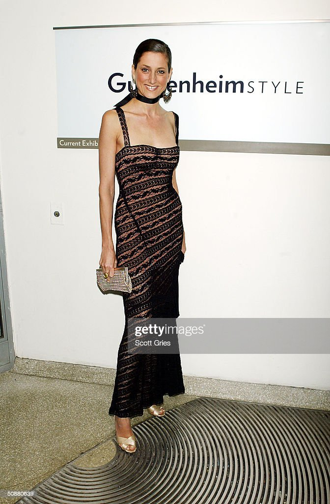 Sally Abermeyer during a gala to honor designer Azzedine Alaia at the Guggenheim Museum May 20, 2004 in New York City.