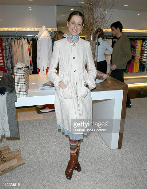 Sally Albemarle during Bella Cuomo and Augustus Albemarle's Birthday Party March 17 2005 at Burberry in New York City New York United States