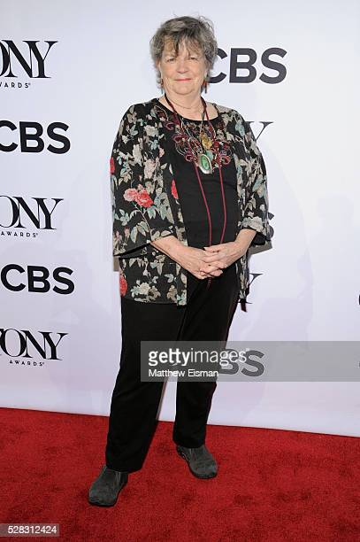 Sally Ann Parsons attends the 2016 Tony Awards Meet The Nominees Press Junket at Diamond Horseshoe at the Paramount Hotel on May 4 2016 in New York...