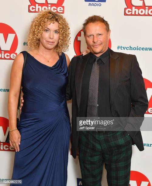 Sally Ann Stuke and Neil Stuke attend the TV Choice Awards at The Dorchester on September 10 2018 in London England