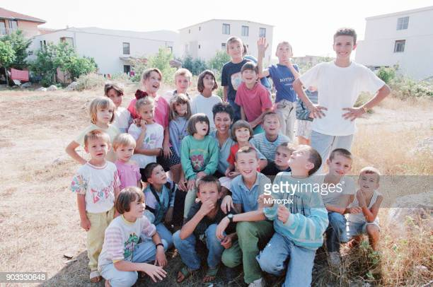 Sally Becker British Aid Worker pictured August 1993 Returns to Mostar's war hospital for the second time in two weeks The 33 year old artist from...