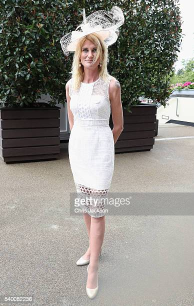 Sally Bercow at Royal Ascot 2016 at Ascot Racecourse on June 14 2016 in Ascot England