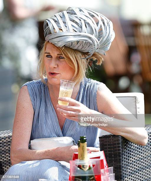 Sally Bercow attends day 1 of Royal Ascot at Ascot Racecourse on June 16 2015 in Ascot England